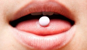 круглая таблетка